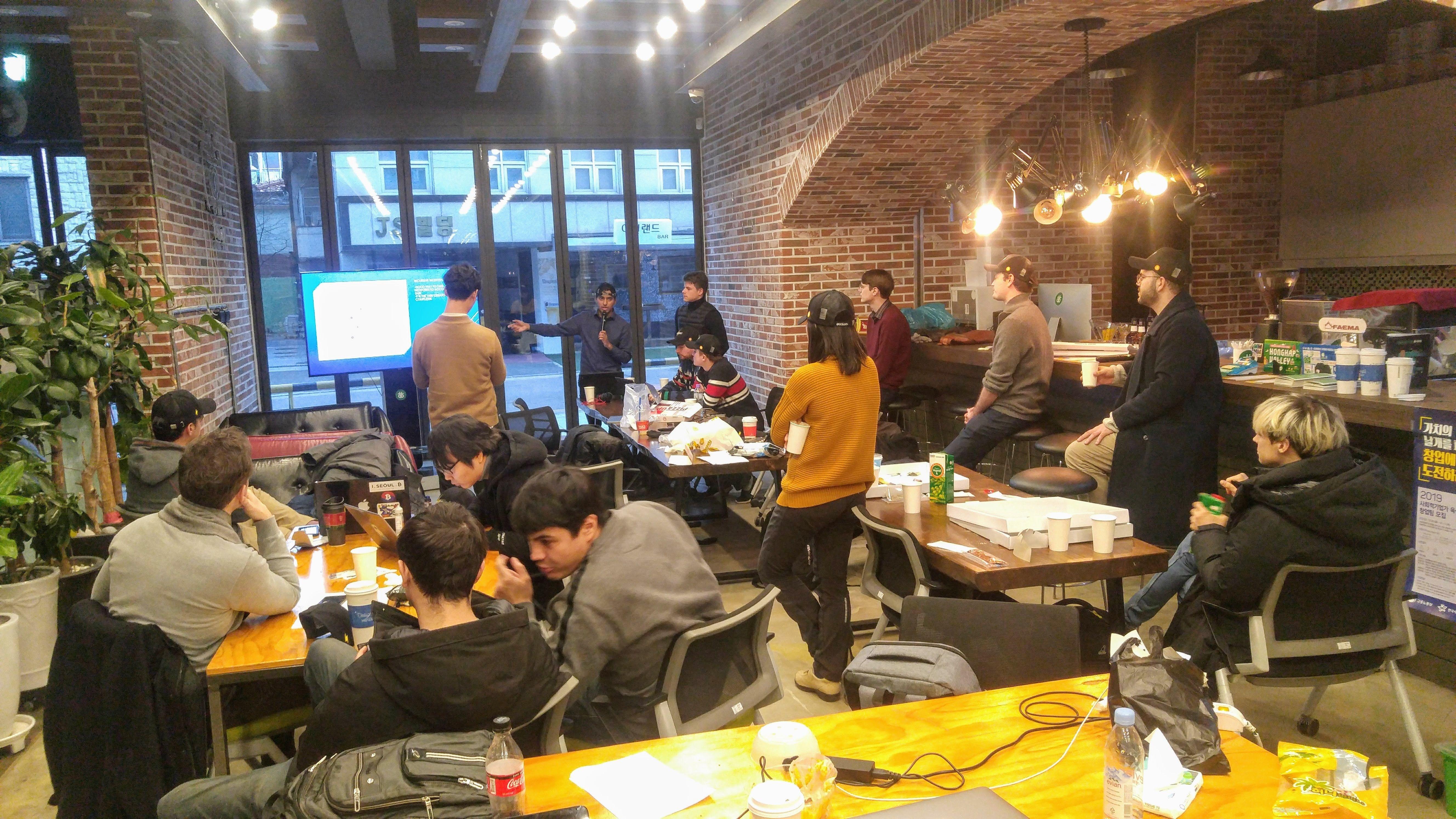 Hackathon in Progress